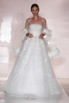 Reem Acra Bridal Fall 2014