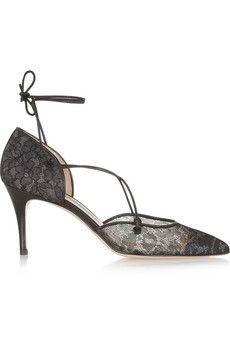 Nicole lace pumps by: Bionda Castana @Net-a-Porter (Global)