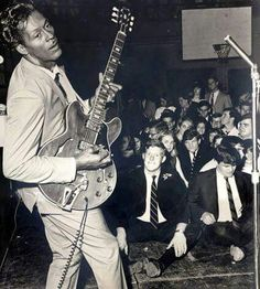 """""""If you were going to give rock & roll another name, you might call it 'Chuck Berry'."""" — John Lennon"""