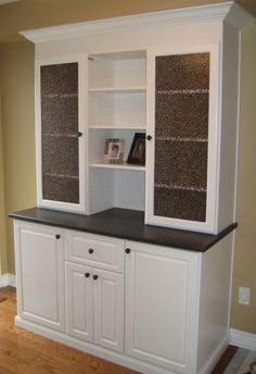 Custom Built Dining Room Buffet | California Closets