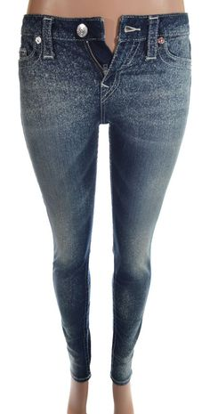 True Religion Womens Legging Jeans Size 27 in Miracle Eye NWT $224.00 #TrueReligion #Leggings