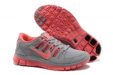 separation shoes 17cee ccb8f caliente nike Free 5.0 + para mujer Gris Rosa zapat salida Pink Running  Shoes, Pink