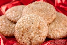 Receita de Biscoito de gengibre e canela em receitas de biscoitos e bolachas, veja essa e outras receitas aqui!