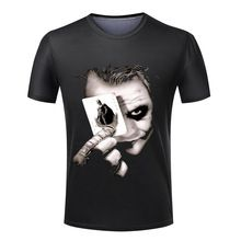 Men Hot Sale Joker Heath Ledger Tees Vintage Movie Batman 2 The Dark Knight Rises T shirts Custom Funny Print Clothing Batman 2, Superman, Joker T Shirt, Joker Heath, Funny Prints, The Dark Knight Rises, Pet Clothes, Vintage Movies, Online Clothing Stores