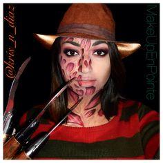 Halloween Inspo, Family Halloween Costumes, Halloween 2019, Halloween Cosplay, Halloween Halloween, Halloween Outfits, Freddy Krueger Fancy Dress, Freddy Kruger Costume, Horror Photos