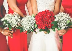 Beaverbrooks | Red and white bouquet ideas #Beaverbrooks #Ruby #Flowers