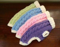 Perro suéter pescador clásico Cable Knit Aran por bychancedesigns