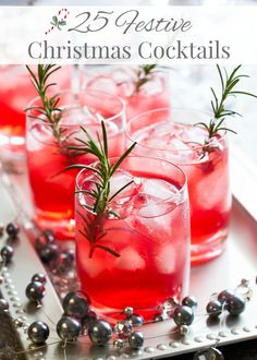 25 Festive Christmas Cocktails - Simply Stacie