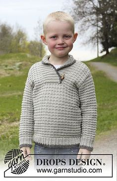 Children - Free knitting patterns and crochet patterns by DROPS Design Knitting For Kids, Baby Knitting Patterns, Crochet For Kids, Free Knitting, Knitting Projects, Knit Crochet, Crochet Patterns, Drops Design, Magazine Drops
