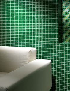Tanticolori Mosaics @Material Plans Mosaic Tiles, Mosaic Walls, Interiors, Green Mosaic Tiles