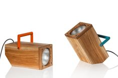 TOM: A Table Lamp Inspired by a Torch - Design Milk