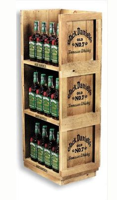 wine display stand - Google Search