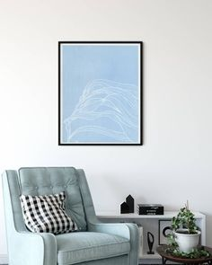Under the Sea Agave Designs ( Botanical Art, Seaweed, Under The Sea, Line Drawing, Modern Art, Accent Chairs, Photo And Video, Wall Art, Interior Design