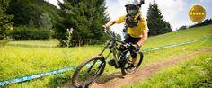 Malinô Brdo ski & bike park, Ružomberok, zjazdové bicyklovanie na horských terénnych kolobežkách alebo bicykloch Zľava: vývoz bicyklov na lanovke:; 10%; 15% VIP; 15% young Bike Parking, Mtb, Skiing, Bicycle, Ski, Bike, Bicycle Kick, Bicycles, Mountain Biking