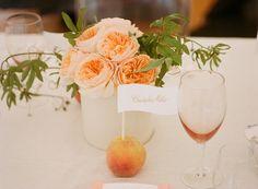 Peach as a food label :)