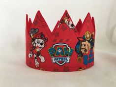 Hey, I found this really awesome Etsy listing at https://www.etsy.com/listing/287924687/paw-patrol-crown-paw-patrol-birthday