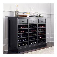 Crate and Barrel: McAllister Wine Storage Base