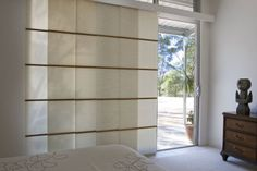 Country Blinds provides top quality Panel Blinds in adelaide. Panel Blinds, Blinds For Windows, Panel Curtains, Patio Door Blinds, Patio Doors, Stores Porte Patio, Country Blinds, Japanese Blinds, Japan Interior