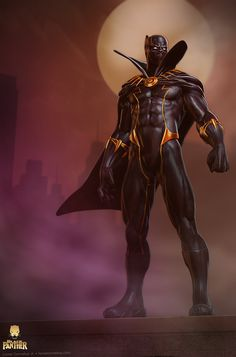StuffNThings - Black Panther by Lionel Cornelius Jr
