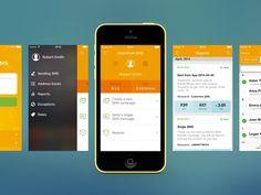 SMS-Sending App