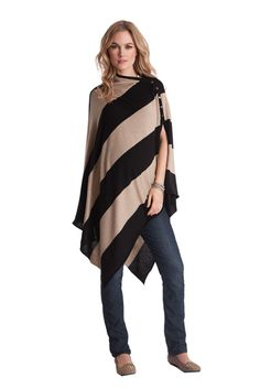 Seraphine Madison Bamboo Nursing Shawl in Stripes by Seraphine with free shipping