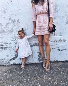 My lil fashion muse  // #babysuttonjane #babystyle #mymini | my dress and…