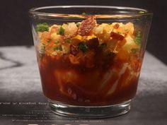 Yema de huevo de caserío confitada (Menú Cuchara). Reserva online en EligeTuPlato.es