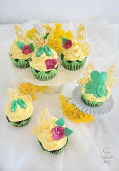 Tinker Bell Cupcakes