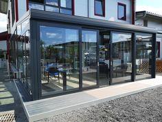 Erweitern Sie Ihren Wohnraum mit einem modernen Wintergarten von Alu Hofstätter. Mehr Bilder finden Sie auf unserer Homepage. Windows, Modern Conservatory, Summer Garden, Ramen, Window