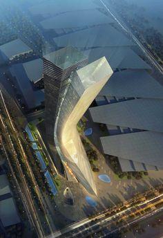 Nanjing - Nanjing Olympic Suning Tower 90flr