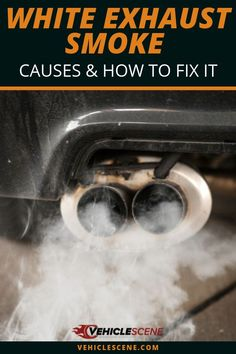 Learn what might be causing white exhaust smoke to come out of your car, and the steps you can take to remedy the situation and prevent it for the future. Car Repair Service, Auto Service, Garage Repair, Preventive Maintenance, Driving Tips, Diy Car, Repair Shop, Diy Auto Repair, Car Detailing