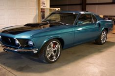 Ford Mustang fastback, I would love to surprise Gary with this one!
