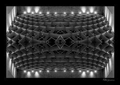 Colmeia no teto by Fabio Oliveira
