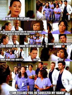 Hoe everyone figuring out that George died I cried so hard... Worst moment of greys anatomy :,(