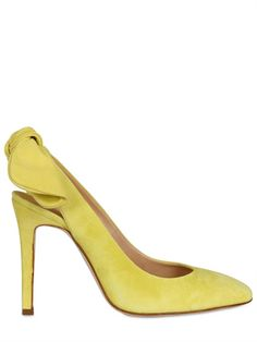Love these Carven suede pumps!