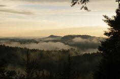 sea of mist by derliebewolf on flickr