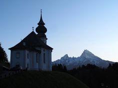 Berchtesgaden-Vordergern, Wallfahrtskirche Maria Gern (Berchtesgadener Land) BY DE