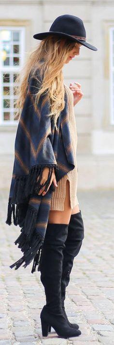 fall fashion boho