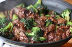 Homemade Beef & Broccoli- This recipe is seriously amazing and so easy.  You'll never crave it from a restaurant again!