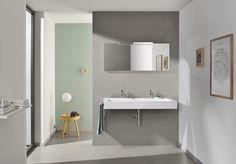 Wonenonline: Alape presenteert op Design District architectonisch lijnenspel bij nieuwe wastafelmeubels