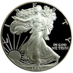 Case and CoA 2006-W $1 Silver American Eagle in Gem Proof Condition w// Box