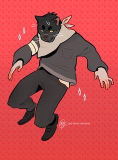 Jumpin' by Gato-Iberico.deviantart.com on @DeviantArt