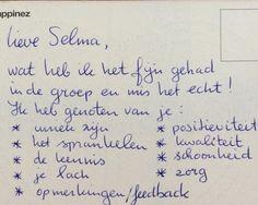 Wat een heerlijke post! Weer een kaart van een oud-deelnemer van Spring eruit als Toptrainer. Ik ben een gezegend mens! www.springeruitalstoptrainer.nl