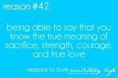 Sacrifice, Strength, Courage and true love - MilitaryAvenue.com