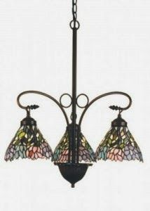 Tiffany Lamps Now: How To Dust a Tiffany Chandelier