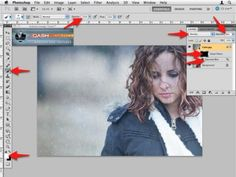 How to use textures with Photos in Photoshop