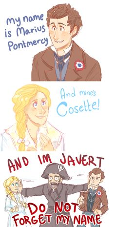because HE'S JAVERT
