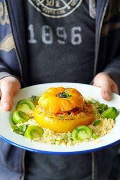 Dorian cuisine.com Mais pourquoi est-ce que je vous raconte ça... : Mes tomates farcies sans viande à l'orientale... parce que des fois la patience et moi...