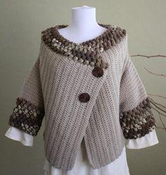 Sedona A Shruglike Garment Crochet Pattern pdf by DanDoh