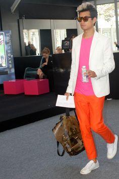 Mercedes-Benz Fashion Week Spring 2013 - Street Vision